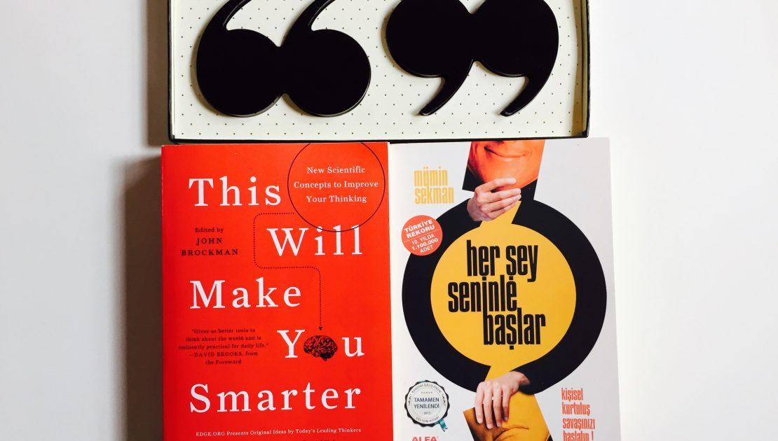 MÜMİN SEKMAN MS, 500.000. Baskıya Önsöz Olarak Ne Yazdı? her şey seninle başlar başarı